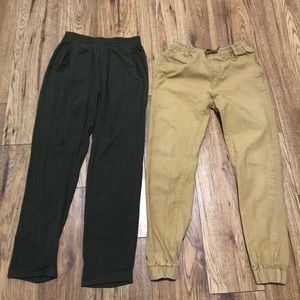2 pairs of ankle length pants